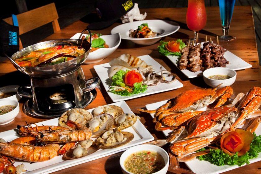 ร้าน Seafood บนเกาะเสม็ด