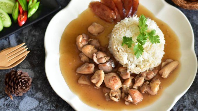 ข้าวหน้าไก่จีนโบราณ