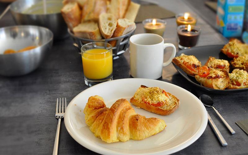 อาหารเช้าแบบยุโรป