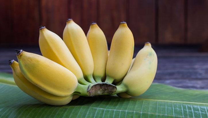 เมนูของหวานจากกล้วย