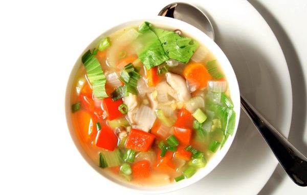 ทำน้ำซุปผักทานเอง