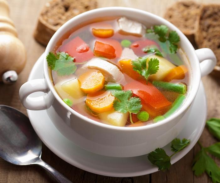 ทำน้ำซุปผัก