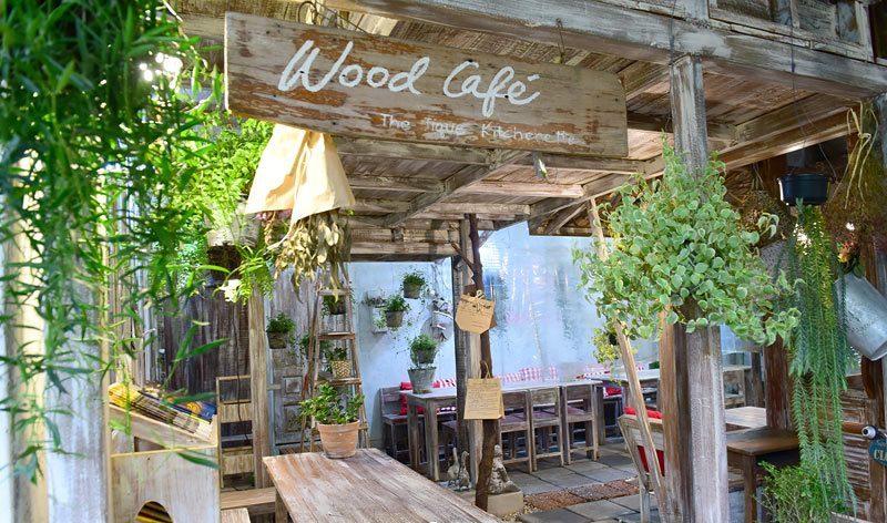 Café วิวธรรมชาติในกรุงเทพ -Wood Café