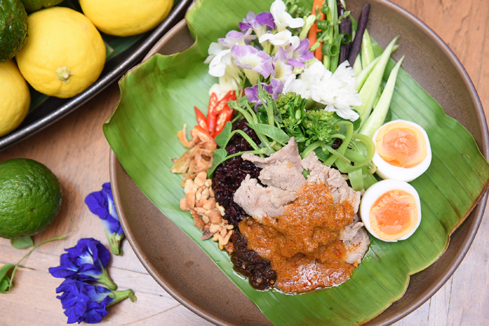 อาหารไทยโบราณ -พระรามลงสรง