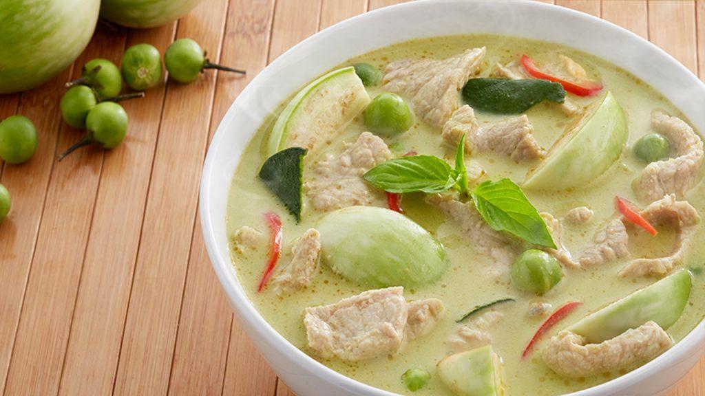 5 เมนู อาหารไทยที่ได้รับความนิยม - แกงเขียวหวาน