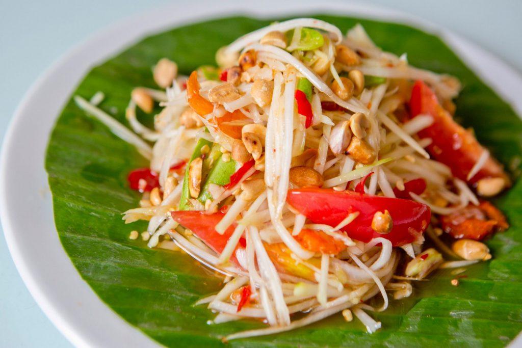 5 เมนู อาหารไทยที่ได้รับความนิยม - ส้มตำ 2