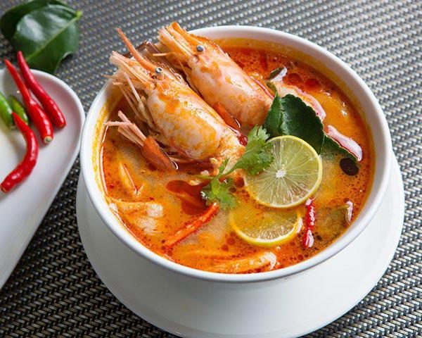 5 เมนู อาหารไทยที่ได้รับความนิยม - ต้มยำกุ้ง